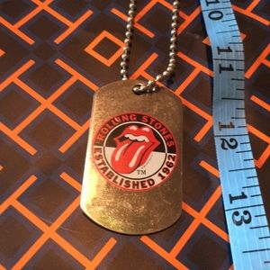 Jewelry - Rolling Stones dog tag